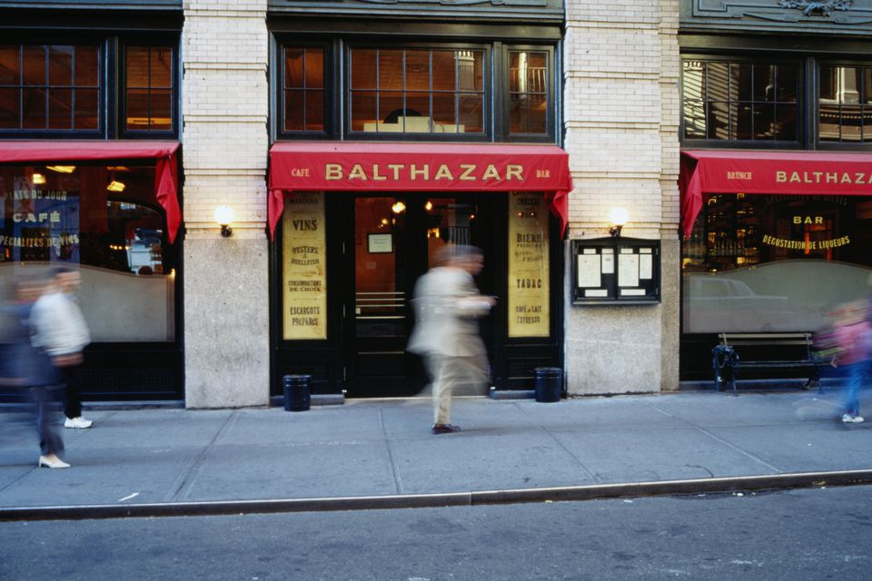 Balthazar Restaurant in New York City, New York