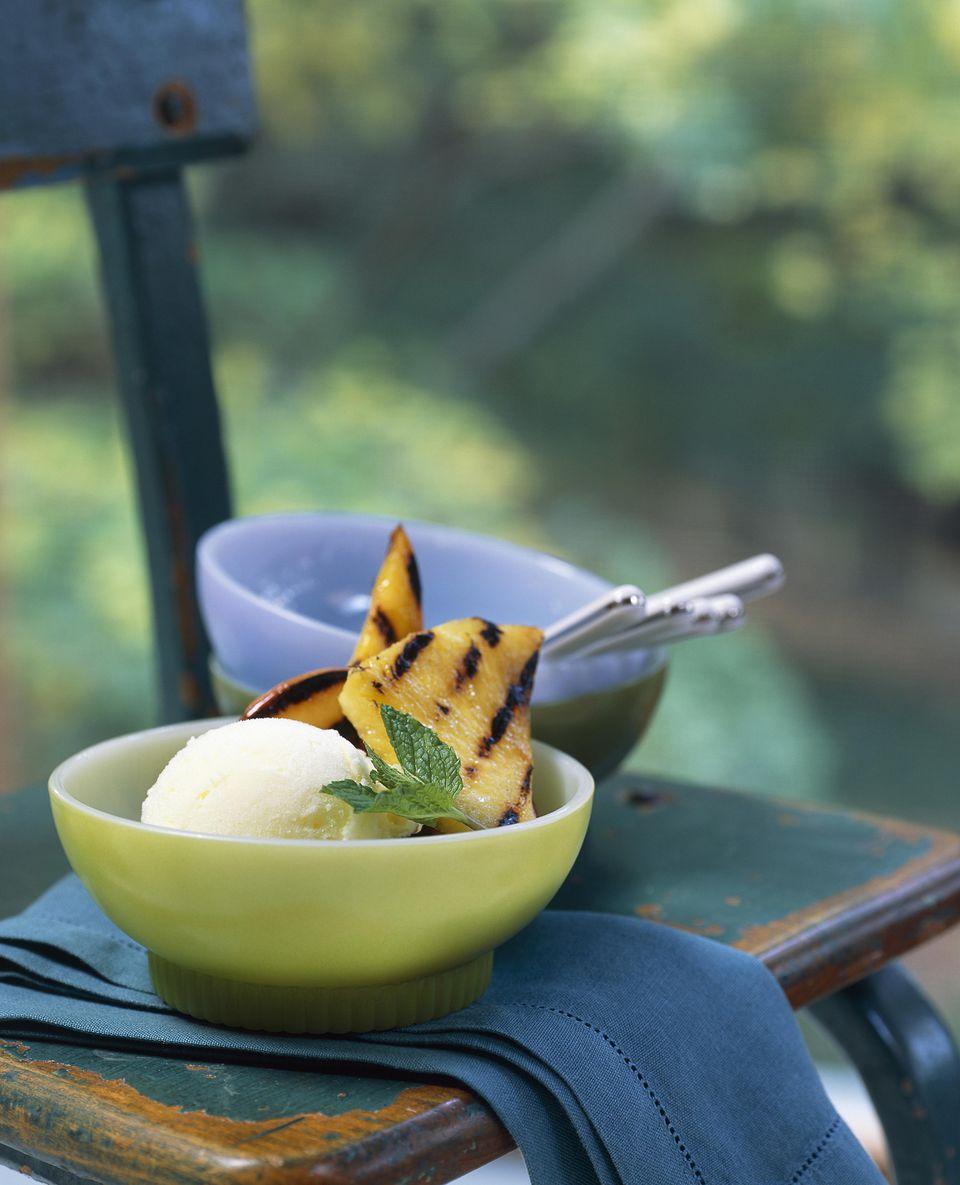 Grilled Pineapple Sundae