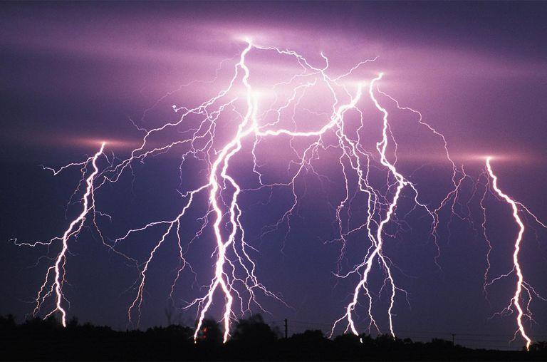 Lightning , Tornado Alley , USA