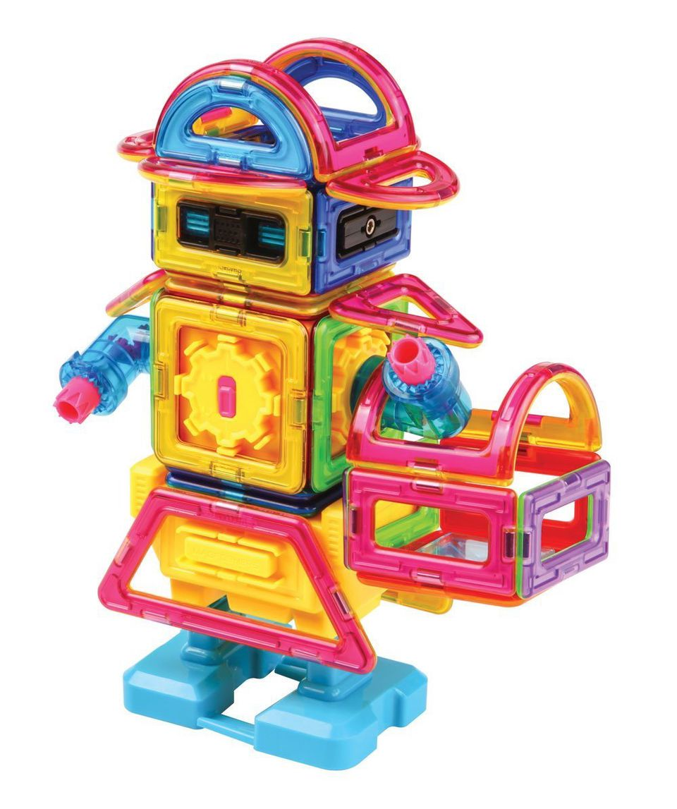 Magformers magnetic building toy robot