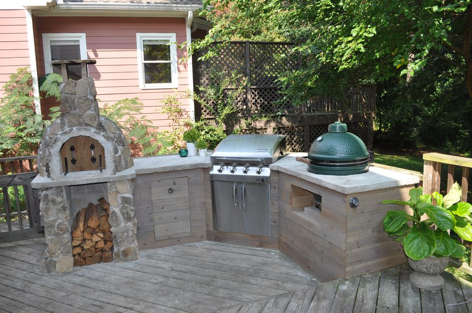 Spectacular diy outdoor kitchen ideas for Great outdoor kitchen ideas