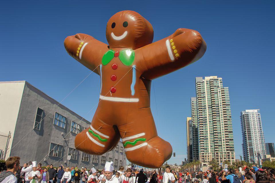 Big Bay Balloon Parade, San Diego in December