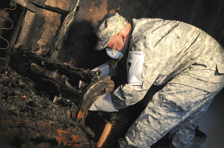 CID agent receives exposure to fire investigations