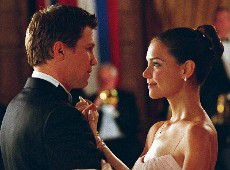 Marc Blucas and Katie Holmes photo from First Daughter