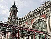 Ellis Island Immigration Center on Ellis Island New York