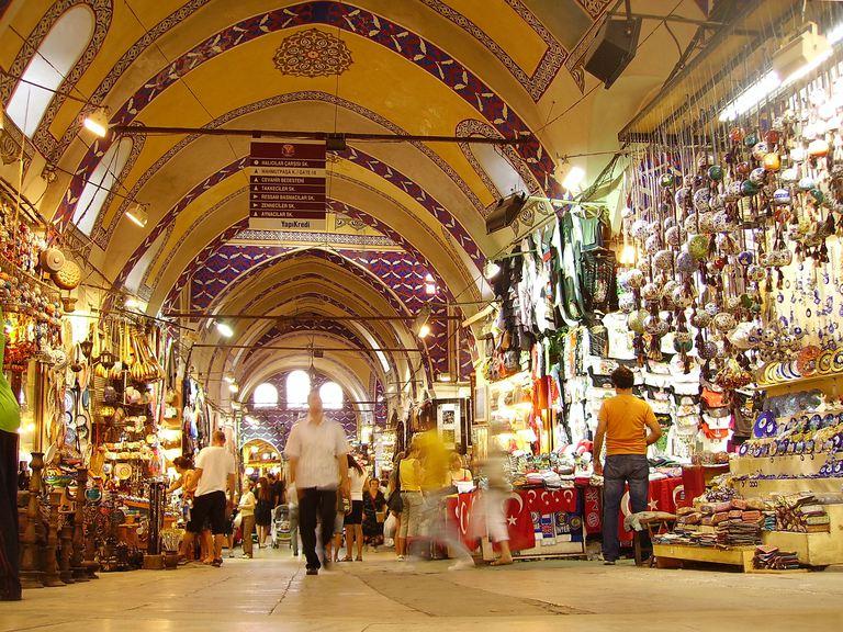 Gran Bazaar for lesson on Spanish homophones