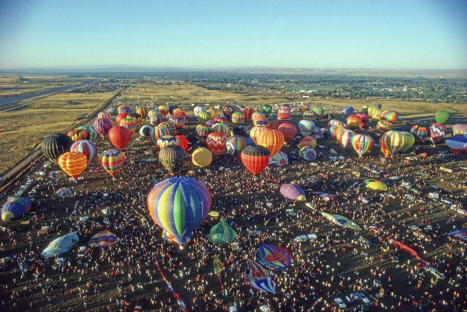 The Albuquerque International Balloon Fiesta. Ballooning Capital of the World.