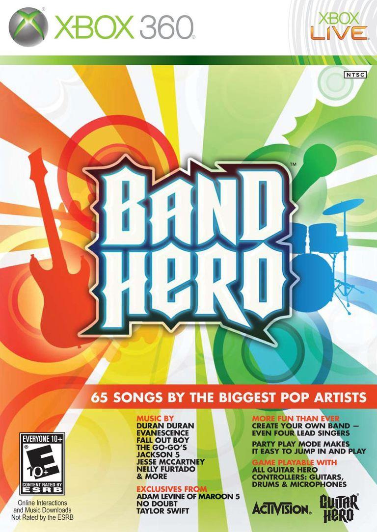Band Hero box