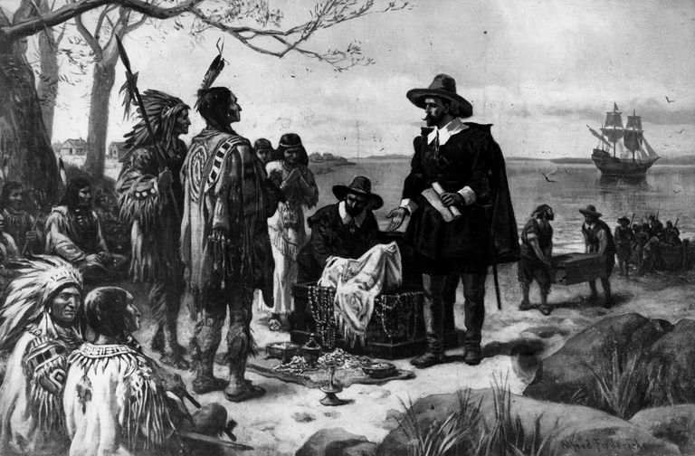 6th May 1626, Dutch colonial officer Peter Minuit (1580 - 1638) purchases Manhattan Island from Man-a-hat-a Native Americans, for trinkets valued at $24.