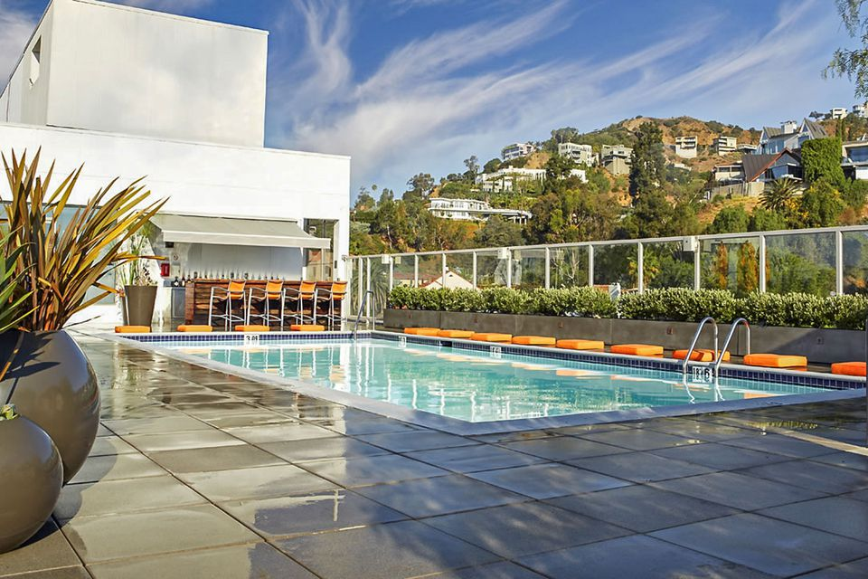 Rooftop Pool at the Andaz West Hollywood Hotel