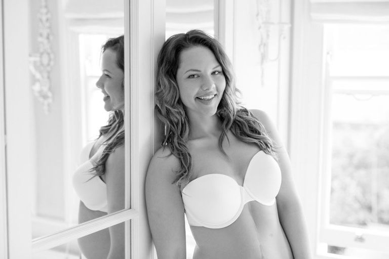 Panache strapless Modeled by Role Models