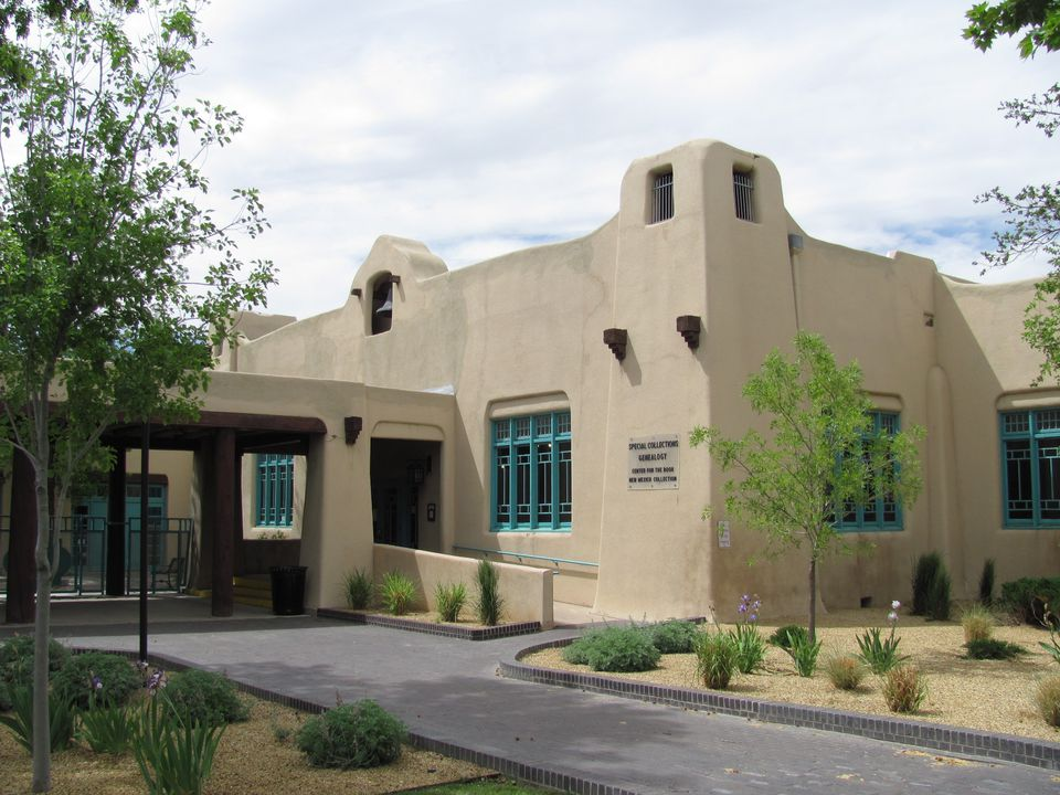 Old Main Library, Albuquerque