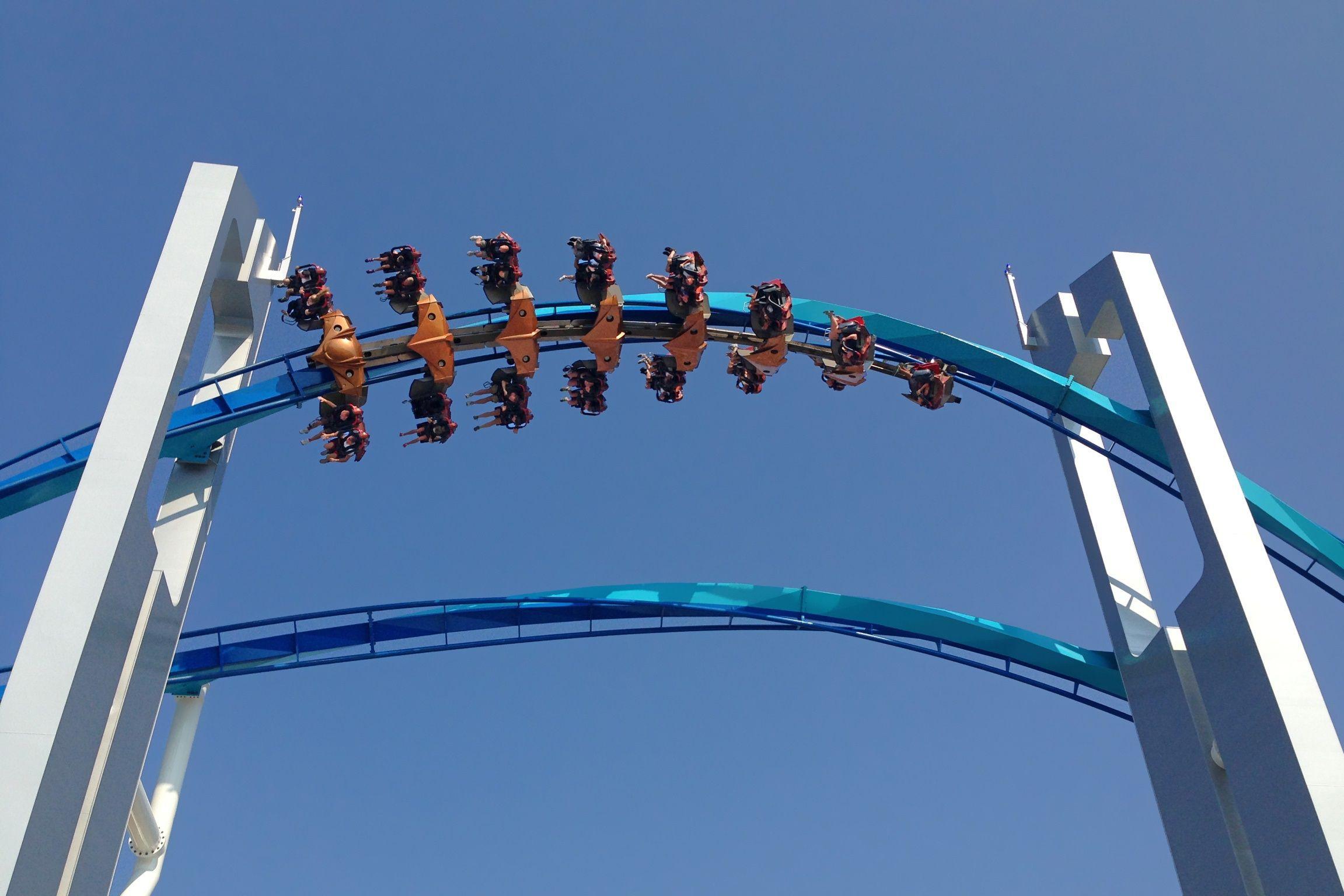 Cedar Point Amusement Park In Sandusky Ohio