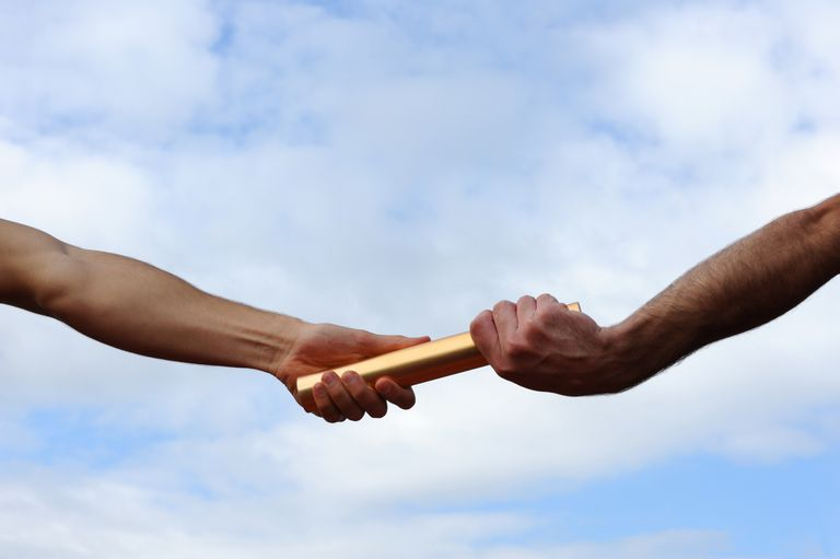 cohesion - passing the baton