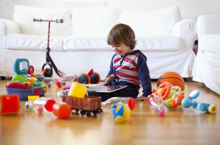 cut down on toy clutter