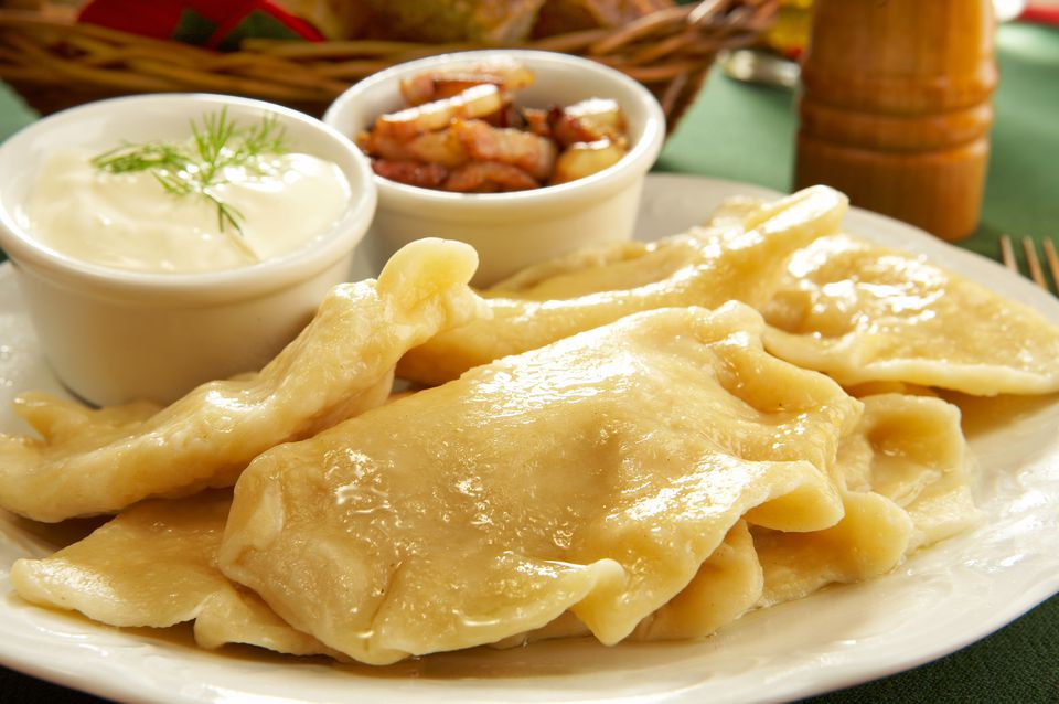 Potato cheese pierogi pierogi ruskie recipe for Authentic polish cuisine