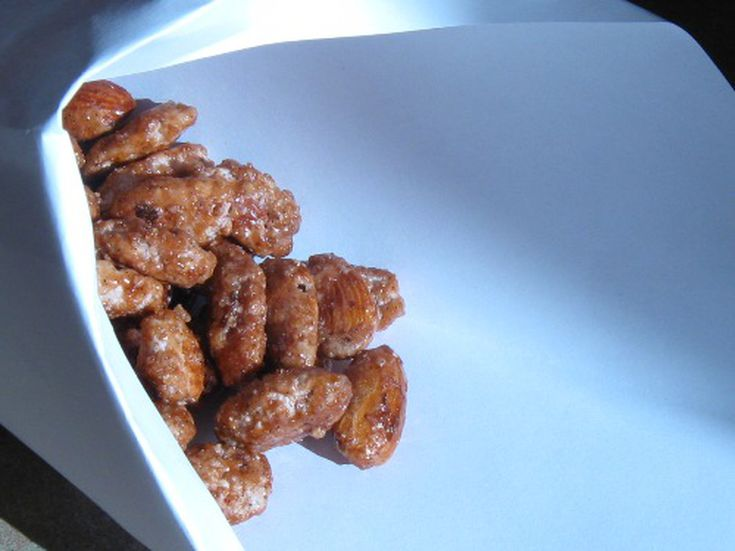 almonds and sushi candied almonds recipe