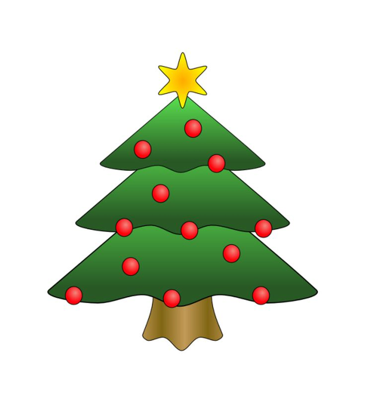 free christmas tree clip art - Christmas Tree Clip
