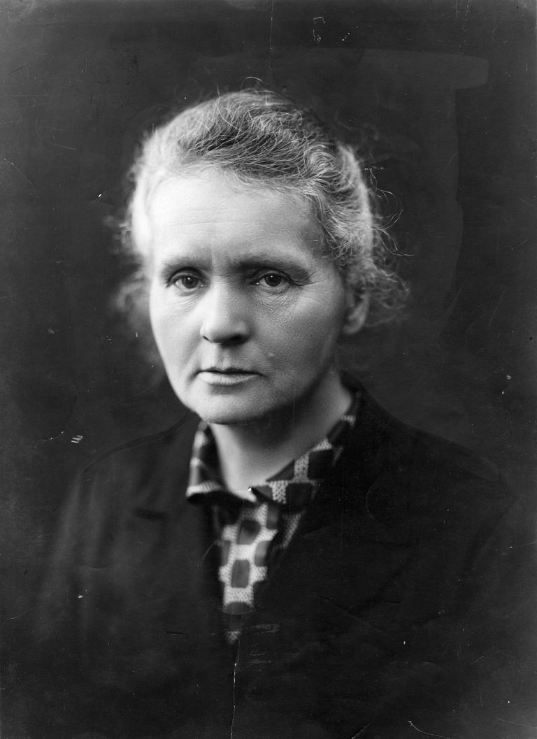 Picture of scientist Marie Curie.
