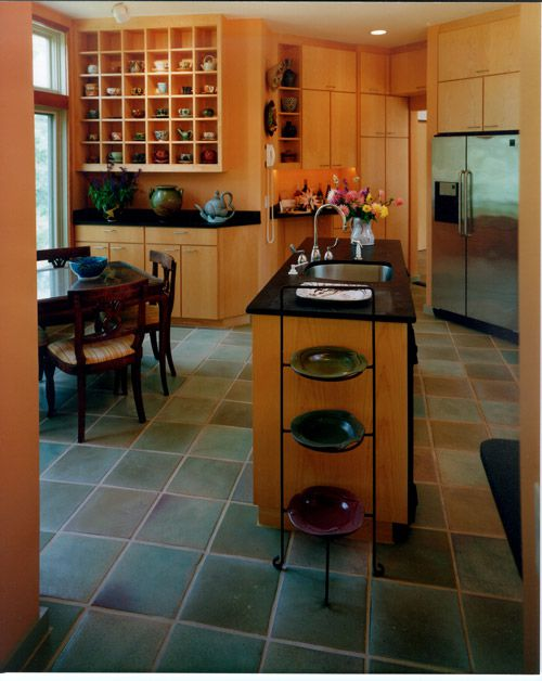 Kitchen floor tiles that are classic durable and trend proof for Classic kitchen floor tile