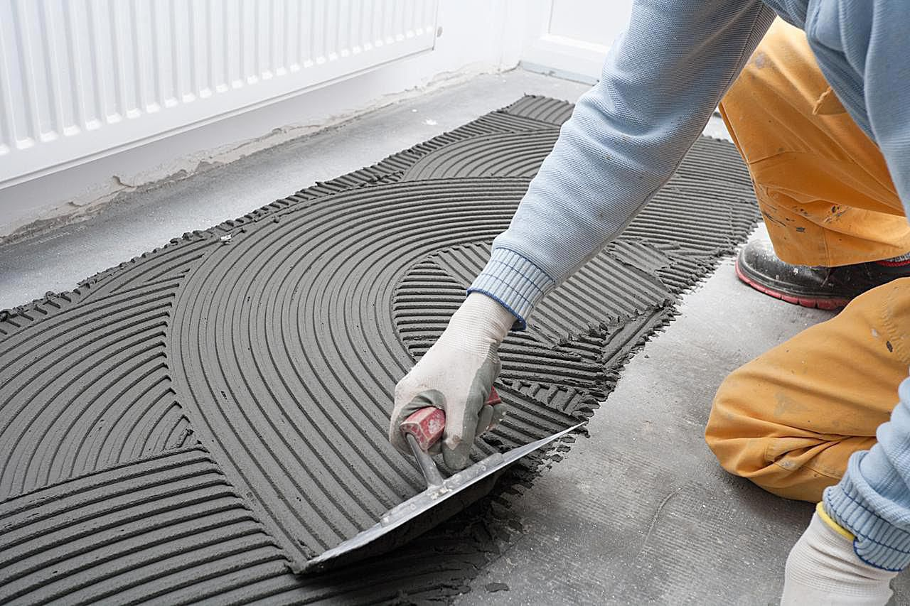 Installing ceramic tile over different floor surfaces get the ideal flat surface you need for installing floor tiles dailygadgetfo Gallery