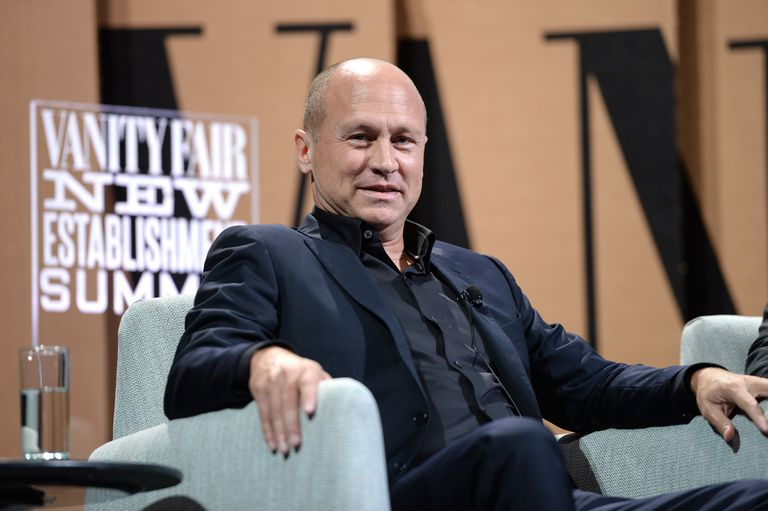 Mike Judge speaks onstage during 'Silicon Valley Vs. Silicon Valley —Inside HBO's Hit Show'