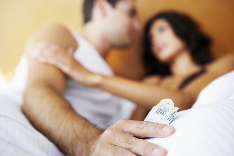 Couple ready to Use Condom