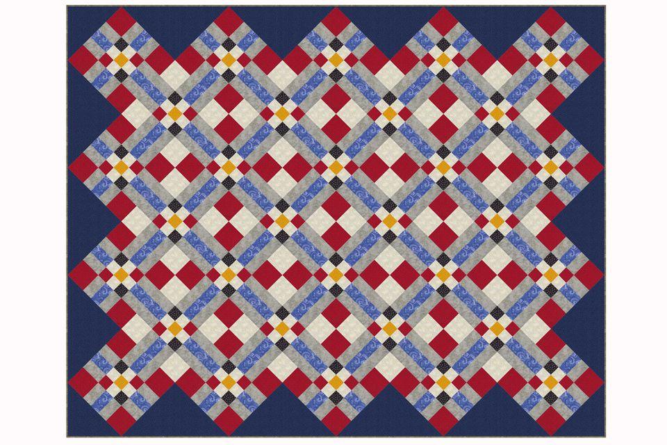 Bright Pathways Quilt Pattern