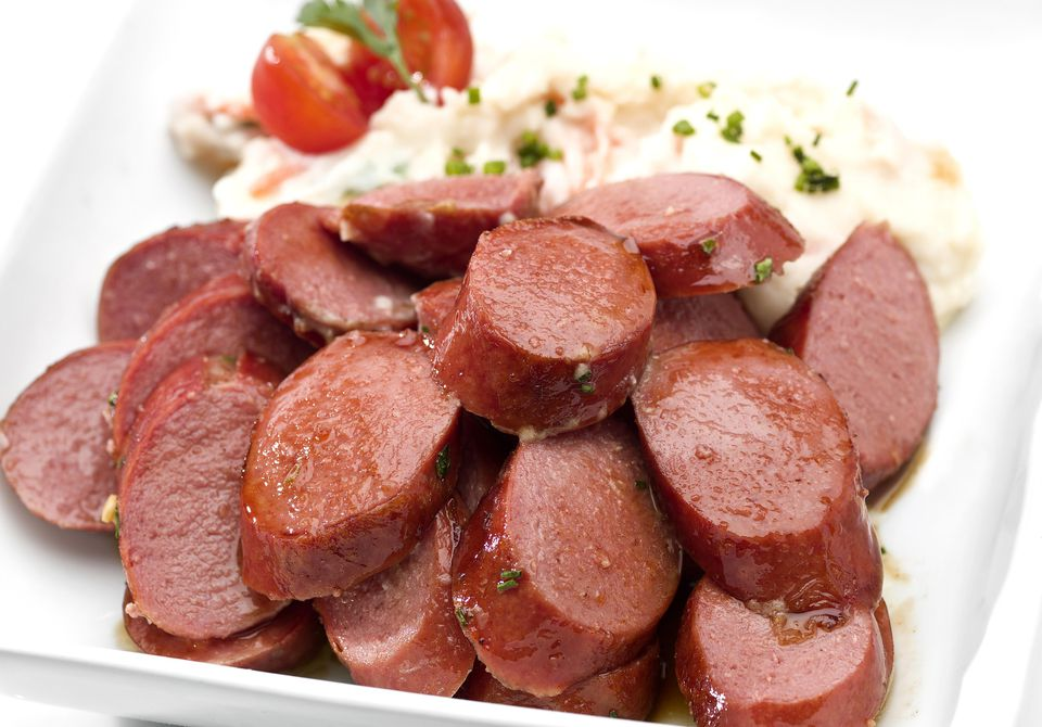Sweet and Spicy Kielbasa