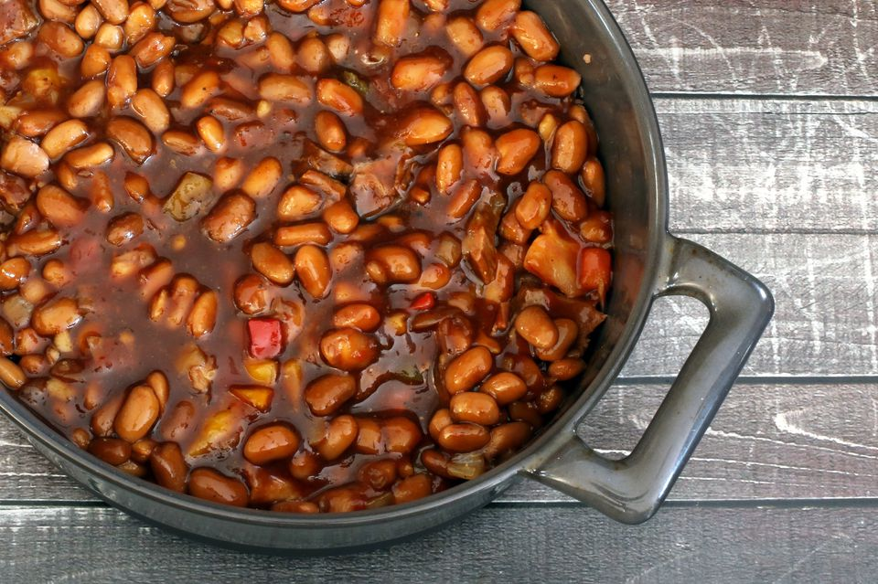 country baked pinto beans