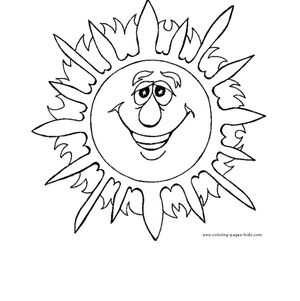 summer coloring pages at coloring pages for kids - Color Pages Kids