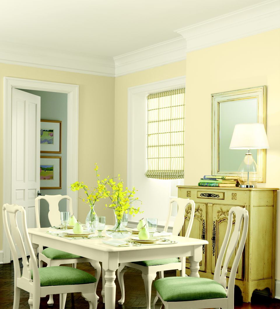 Colorful Rooms With A View: See The Top Paint Colors For Small Spaces