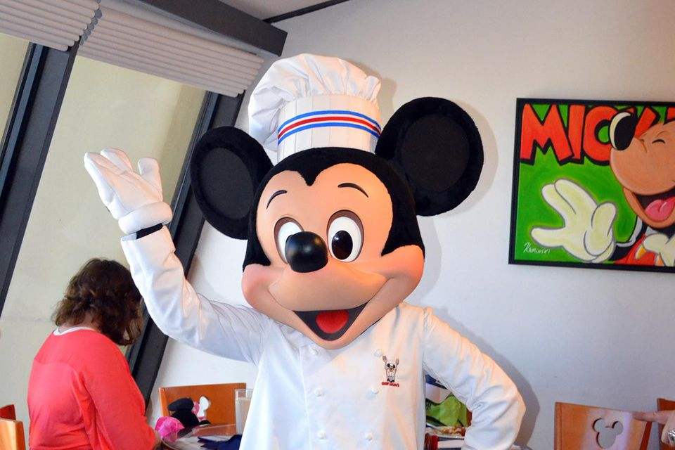 Chef Mickey's at the Contemporary Resort!