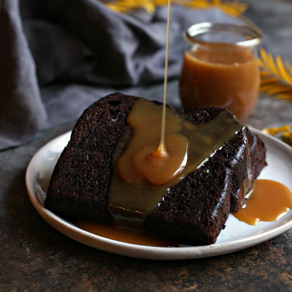 Tahini Caramel Sauce
