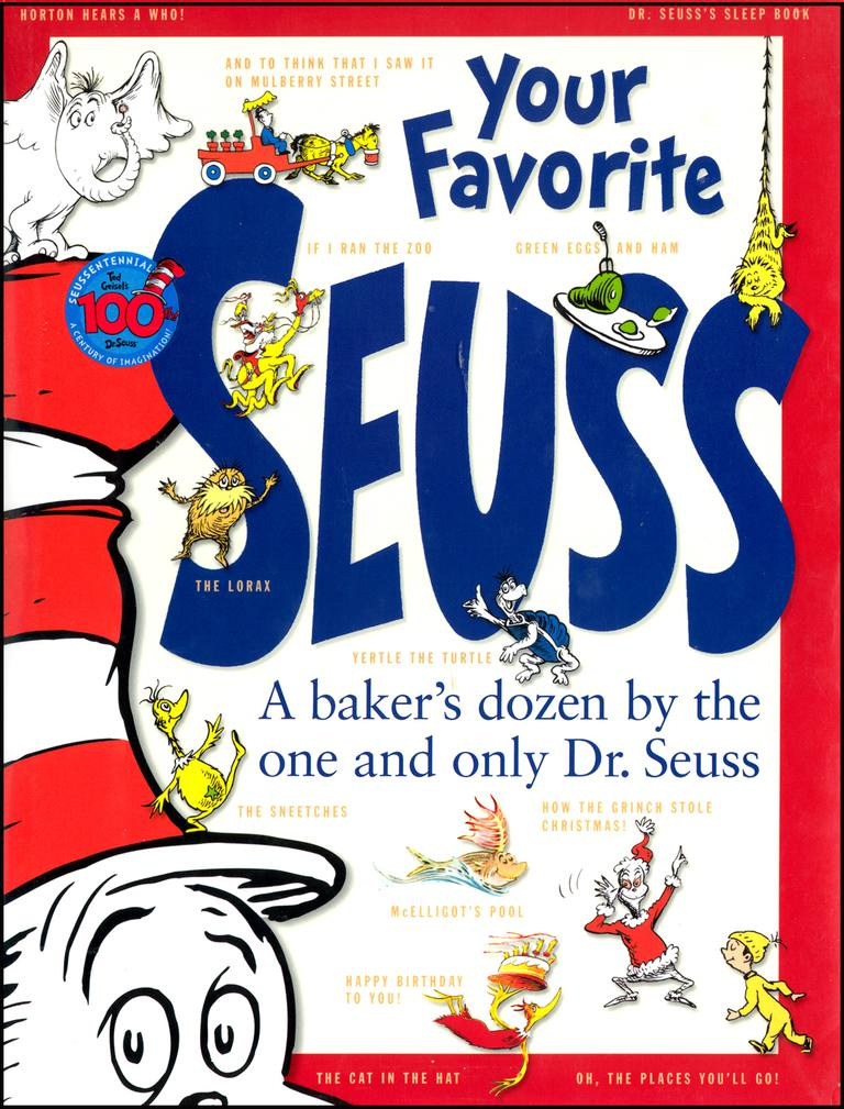 Your Favorite Seuss - Book Cover of Dr. Seuss Story Collection