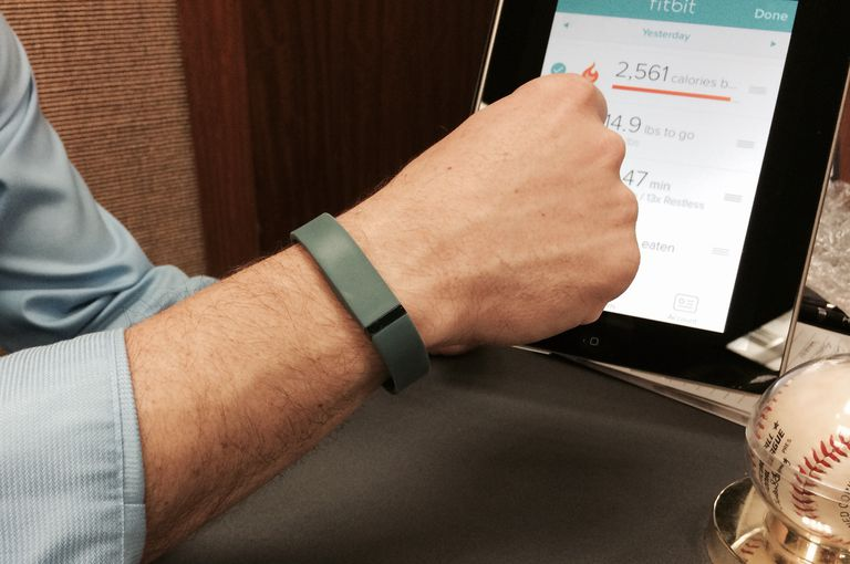 Fitbit Flex - Checking Your Fitness Tracker Stats