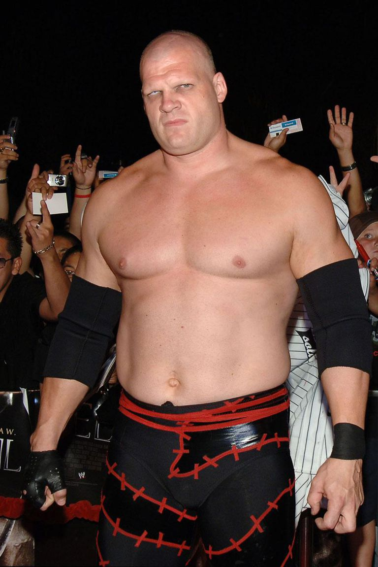 136825386 Subscription download 08 May 2006 Kane, WWE Raw Superstar during 'See No Evil' Premiere - Arrivals in Los Angeles, California, United States.
