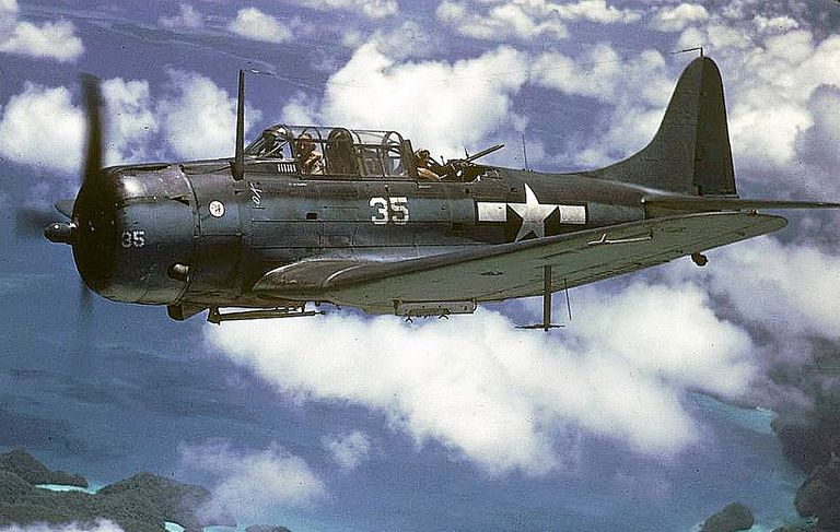 SBD Dauntless in the Pacific