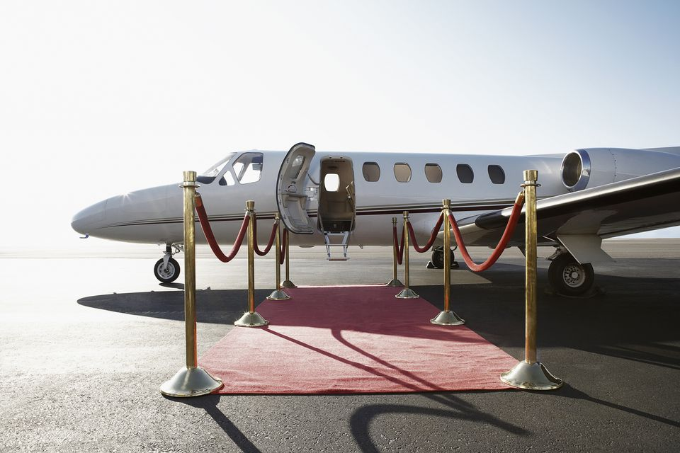 Step right up to your own private jet