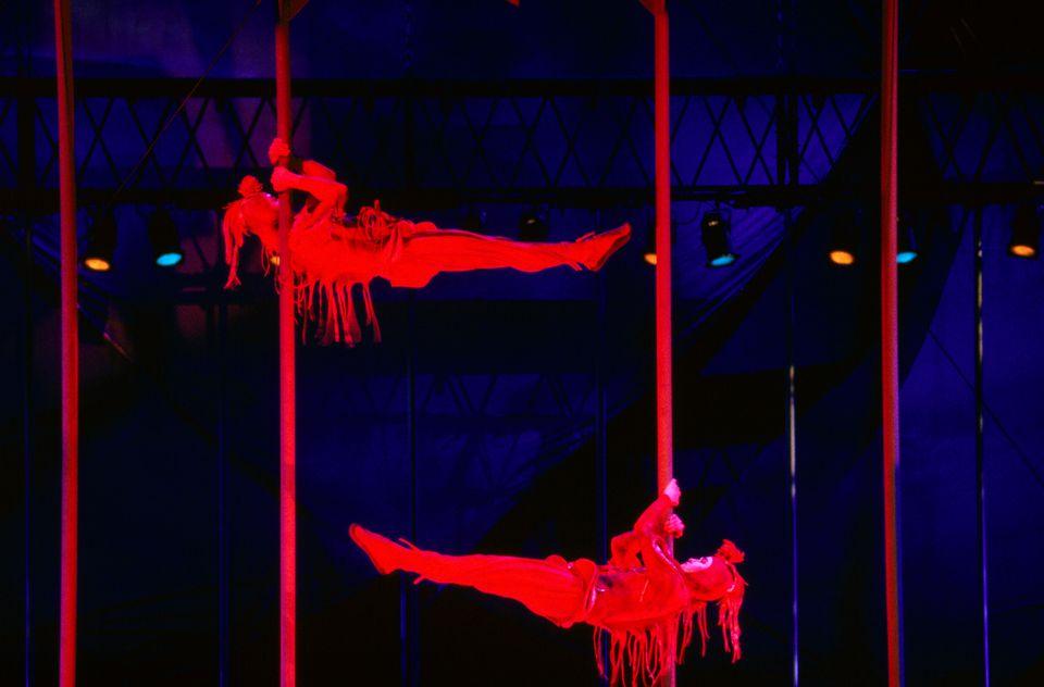 Cirque du Soleil's Mystere, Treasure Island Hotel.