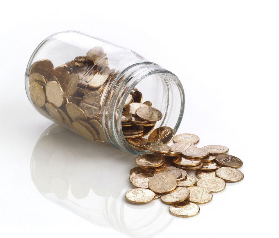 Polished pennies