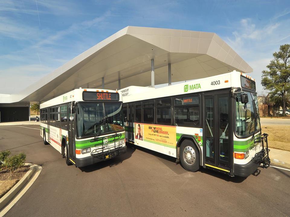 MATA Memphis Area Transit Authority Memphis City Bus