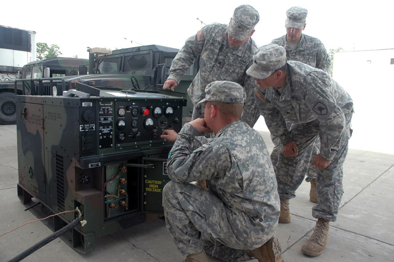 Army Job Description: 91D Tactical Power Generation Specialist