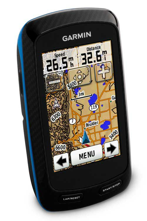 Garmin Edge 800 GPS Cyclecomputer Topo Screen