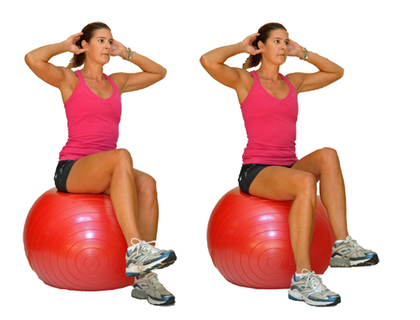 Core Workout for the Exercise Ball