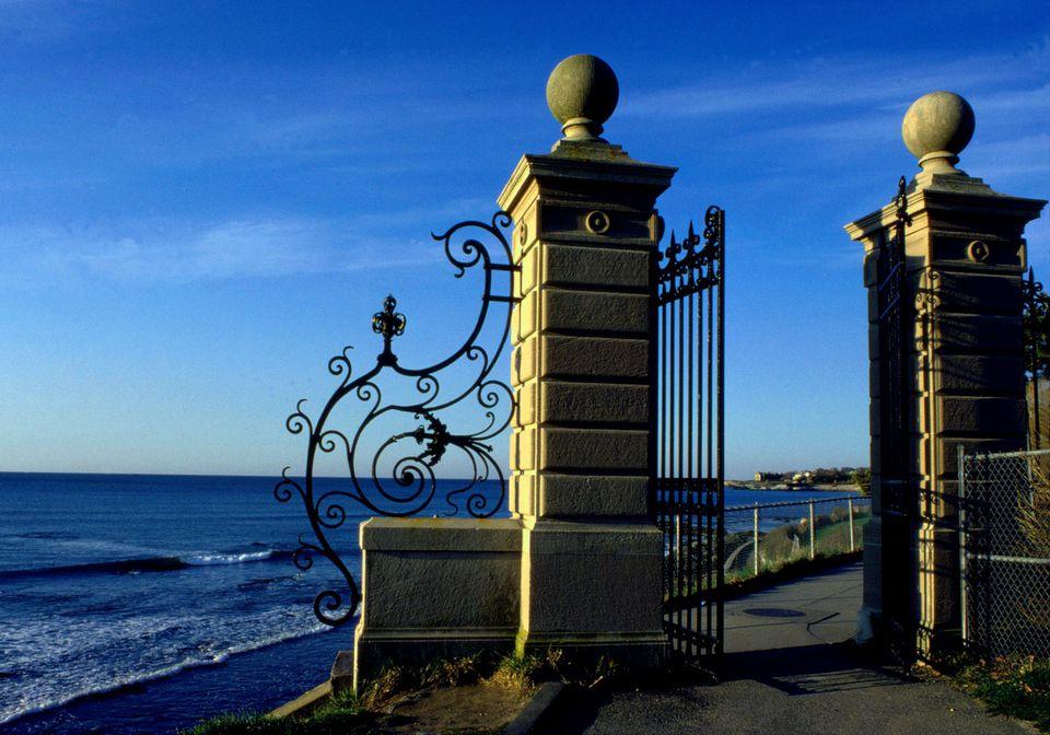 Cliff Walk in Newport Rhode Island