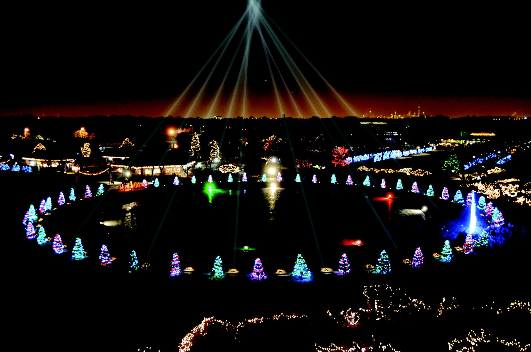 Brookfield Zoo Holiday Magic - Christmas in Chicago