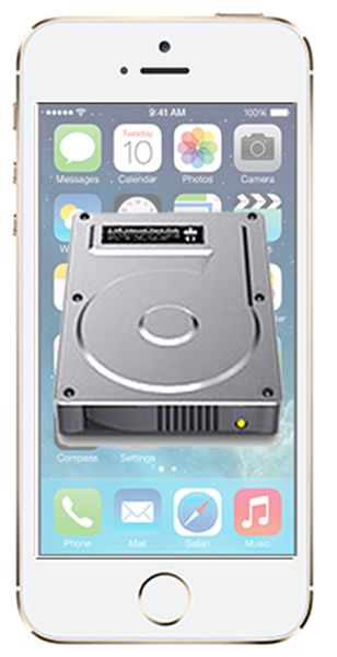 iPhone disk mode