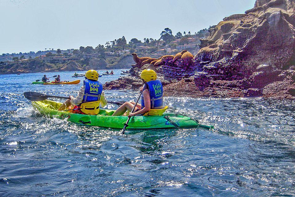 Kayaking in La Jolla