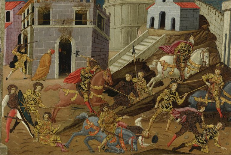 The expulsion of Tarquin and his family from Rome.